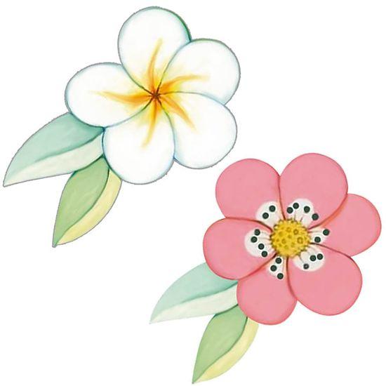 Aplique-Decoupage-Litoarte-APM4-406-em-Papel-e-MDF-4cm-Flores
