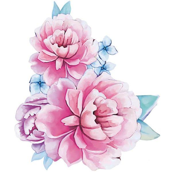 Aplique-Decoupage-Litoarte-APM8-1226-em-Papel-e-MDF-8cm-Flores
