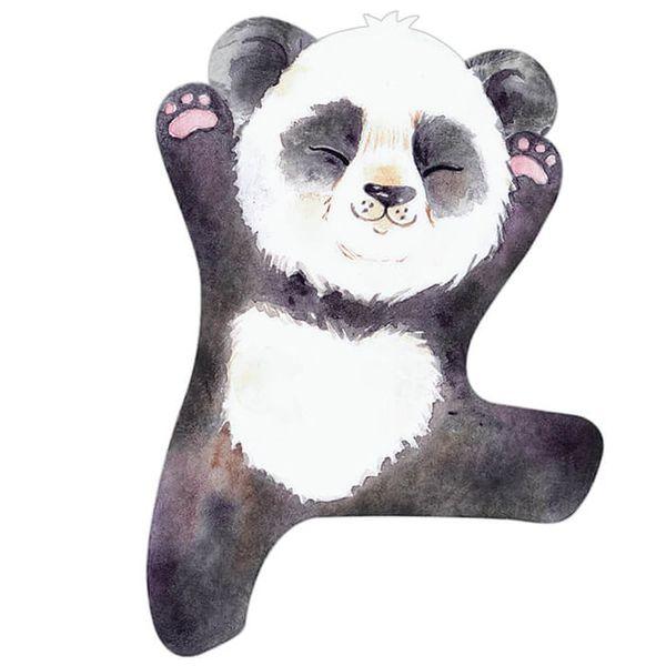 Aplique-Decoupage-Litoarte-APM8-1266-em-Papel-e-MDF-8cm-Panda-Espreguicando