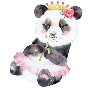 Aplique-Decoupage-Litoarte-APM8-1267-em-Papel-e-MDF-8cm-Panda-Coroa