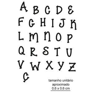 Carimbo-de-Borracha-Litoarte-CLP-189-Alfabeto-Maiusculo