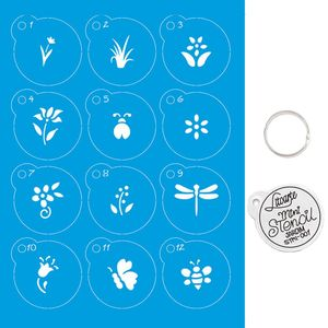Kit-Stencil-Mini-Litoarte-com-14-pecas-45cm-STMI-001-Jardim