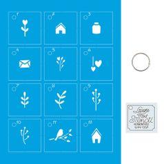 Kit-Stencil-Mini-Litoarte-com-14-pecas-45cm-STMI-002-Romantico