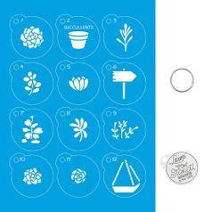 Kit-Stencil-Mini-Litoarte-com-14-pecas-45cm-STMI-005-Suculentas