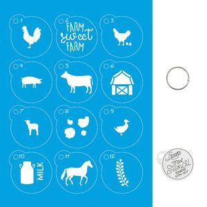 Kit-Stencil-Mini-Litoarte-com-14-pecas-45cm-STMI-007-Country