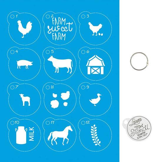 Kit-Stencil-Mini-Litoarte-com-14-pecas-45cm-STMI-007-Country