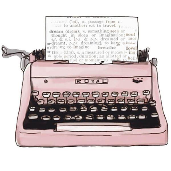 Aplique-Decoupage-Litoarte-APM8-1252-em-Papel-e-MDF-8cm-Maquina-de-Escrever