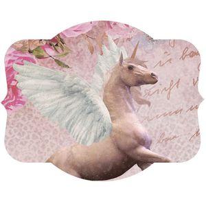 Aplique-Decoupage-Litoarte-APM8-1239-em-Papel-e-MDF-8cm-Unicornio