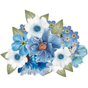 Aplique-Decoupage-Litoarte-APM8-1248-em-Papel-e-MDF-8cm-Flores-Azuis