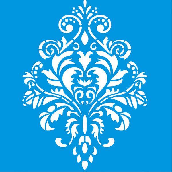 Stencil-Litoarte-14x14-STA-128-Arabesco-Ornamento