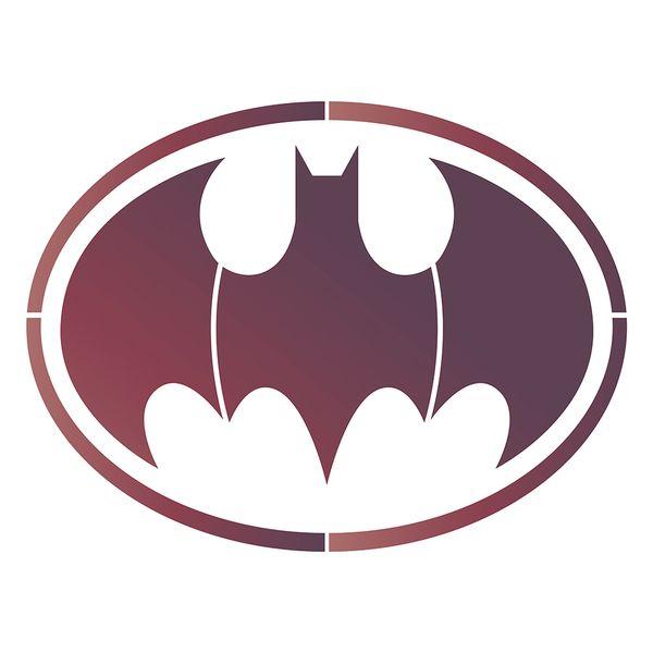 Stencil-Litoarte-25x25-STXXV-046-Super-Heroi-Morcego