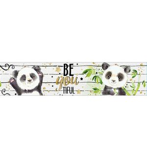 Barra-Adesiva-Litoarte-436x4cm-BDA-IV-817-Panda-Be-You-Tiful