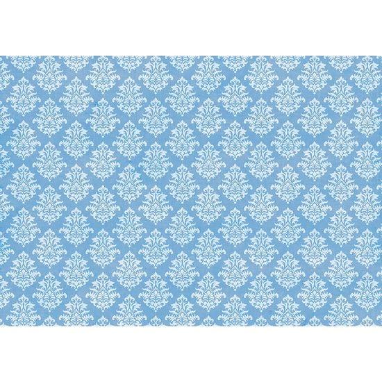 Papel-Decoupage-Litoarte-343x49-PD-1007-Estampa-Arabesco-Azul