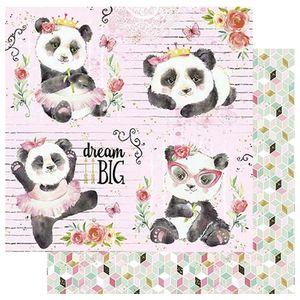 Papel-Scrapbook-Litoarte-305x305-SD-1078-Urso-Panda