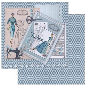 Papel-Scrapbook-Litoarte-305x305-SD-1064-Costura-Fashion