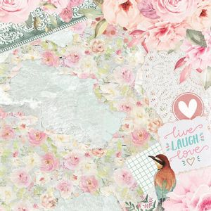 Papel-Scrapbook-Litoarte-305x305-SD-1094-Beija-Flor-Love