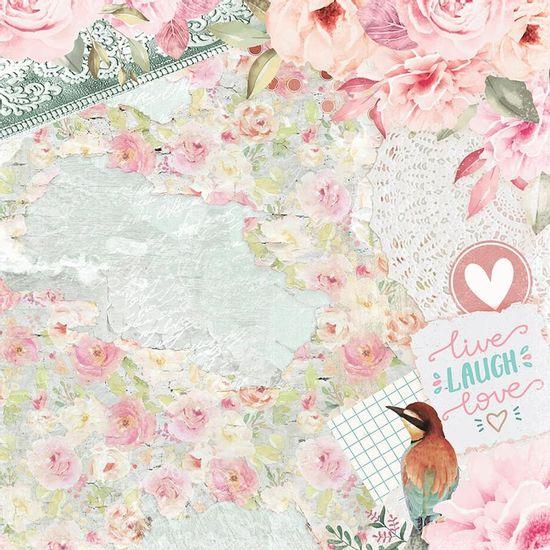 Papel-Scrapbook-Litoarte-305x305-SD-1094-Beija-Flor-Love