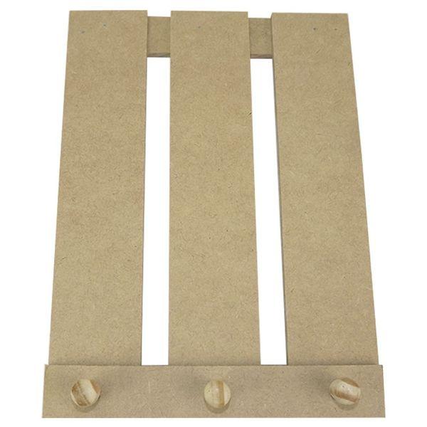 Porta-Chaves-em-MDF-25x182cm-Pallet-3-Pitoes---Palacio-da-Arte