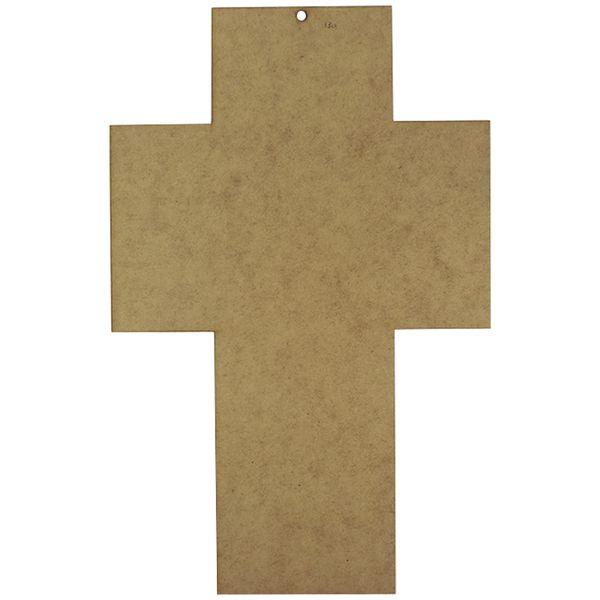 Placa-Decorativa-em-MDF-Crucifixo-Lisa-37x238cm---Palacio-da-Arte