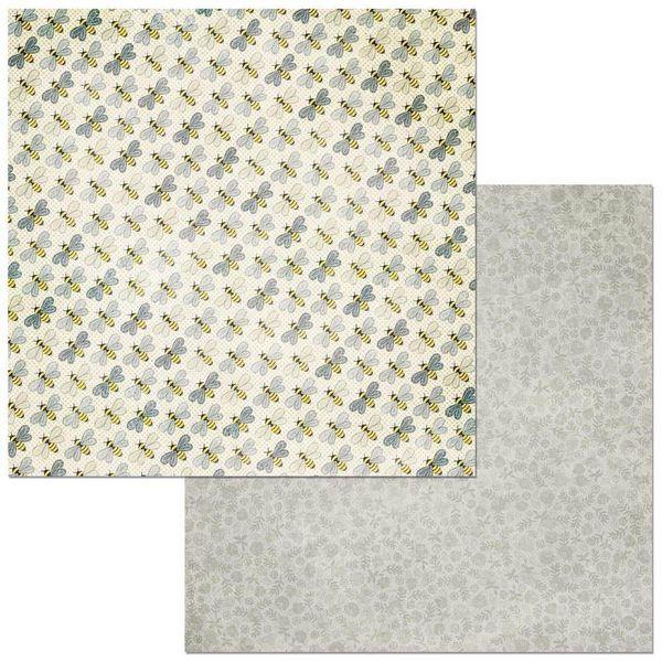 Papel-Scrapbook-WER276-305x305-Bo-Bunny-Abelhas