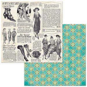 Papel-Scrapbook-WER317-305x305-Bo-Bunny-Jornal