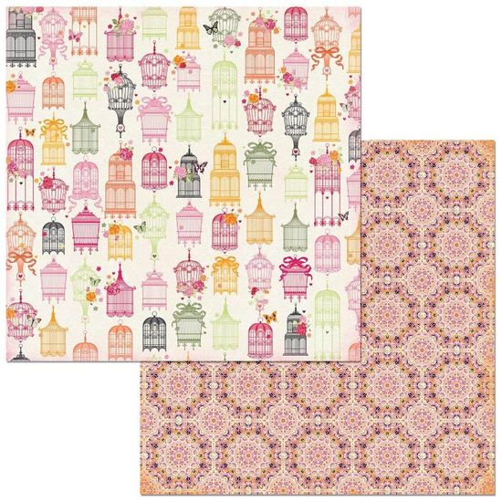 Papel-Scrapbook-WER269-305x305-Bo-Bunny-Gaiolas-Coloridas