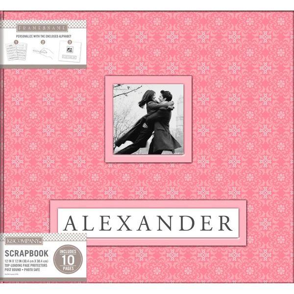 Album-para-Scrapbook-K-C-WER250-Pink-Alexander-305x305-Rosa