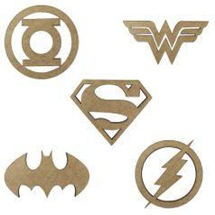 Kit-de-Apliques-em-MDF-Super-Herois-I-com-5-Pecas---Palacio-da-Arte