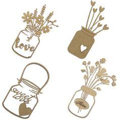 Aplique-em-MDF-Potes-Flor-Love-com-4-pecas---Palacio-da-Arte