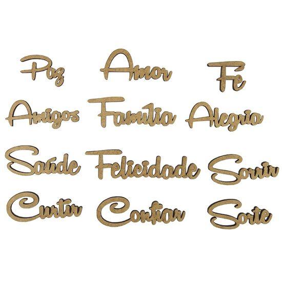 Kit-de-Apliques-Palavras-em-MDF-com-12-Pecas---Palacio-da-Arte