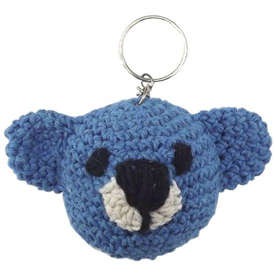 Chaveiro-de-Croche-Urso-8x5cm-Azul---Palacio-da-Arte