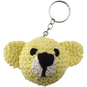 -Chaveiro-de-Croche-Urso-8x5cm-Amarelo---Palacio-da-Arte