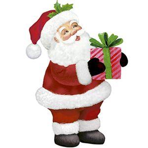 Aplique-Decoupage-Natal-Litoarte-APMN8-146-em-Papel-e-MDF-8cm-Noel-Presente
