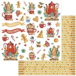 Papel-Scrapbook-Natal-Litoarte-305x305-SDN-133-Xicara-e-Bule