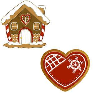Aplique-Decoupage-Natal-Litoarte-APMN4-022-em-Papel-e-MDF-4cm-Biscoito-Casinha