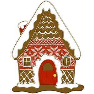 Aplique-Decoupage-Natal-Litoarte-APMN8-153-em-Papel-e-MDF-8cm-Biscoito-Casa
