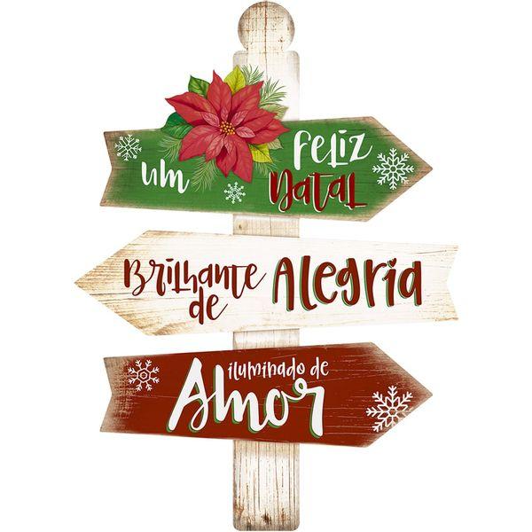 Placa-em-MDF-Natal-Litoarte-DHN-028-40x29cm-Um-Feliz-Natal