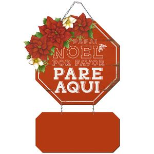 Placa-em-MDF-Natal-Litoarte-DHN-033-49x285cm-Papai-Noel