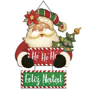 Placa-em-MDF-Natal-Litoarte-DHN-029-46x263cm-Papai-Noel