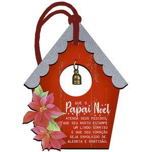 Placa-TAG-MDF-Decorativa-Natal-Litoarte-DHT5N-010-122x95cm-Casinha-Vermelha-com-Guizo