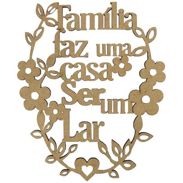 Aplique-em-MDF-Frase-Familia-165x134cm---Palacio-da-Arte