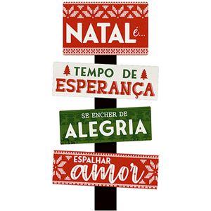 Placa-em-MDF-Natal-Litoarte-DHN-026-43x22cm-Natal-e-Tempo-de-Esperanca