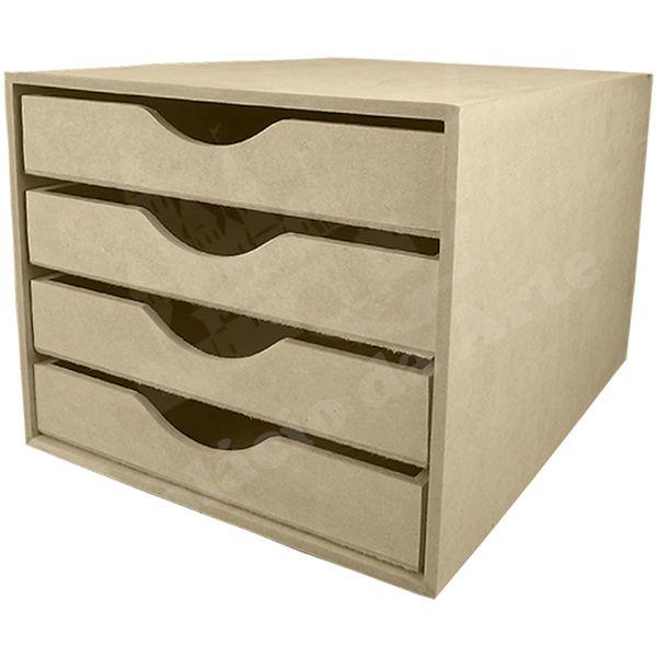 Organizador-de-Mesa-para-Papel-Sulfite-em-MDF-4-Gavetas-325x25x205cm---Palacio-da-Arte