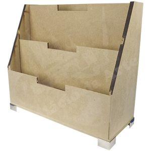 Porta-Cartas-Triplo-em-MDF-com-Pe-Metal-24x22x10cm---Palacio-da-Arte