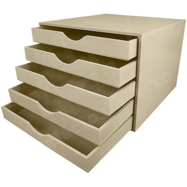Porta-Scrapbook-em-MDF-com-5-Gavetas-255x342x352cm-–-Palacio-da-Arte