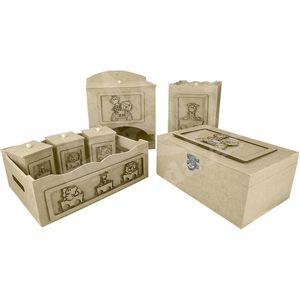 Kit-Higiene-Bebe-em-MDF-Safari-Motorizado-7-pecas-com-Farmacinha---Palacio-da-Arte