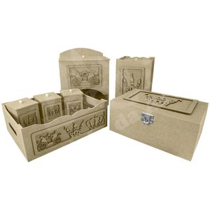 Kit-Higiene-Bebe-em-MDF-Carruagem-Principe-7-pecas-com-Farmacinha---Palacio-da-Arte