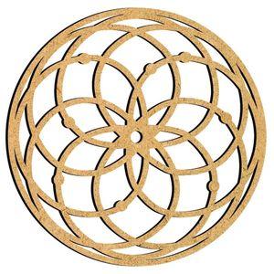 Mandala-em-MDF-30x30cm-MRL-095G-Simetrica---Palacio-da-Arte