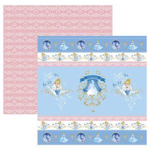 Papel-ScrapFesta-Disney-Princesa-Cinderela-Fitas-e-Rotulos-SDFD071---Toke-e-Crie