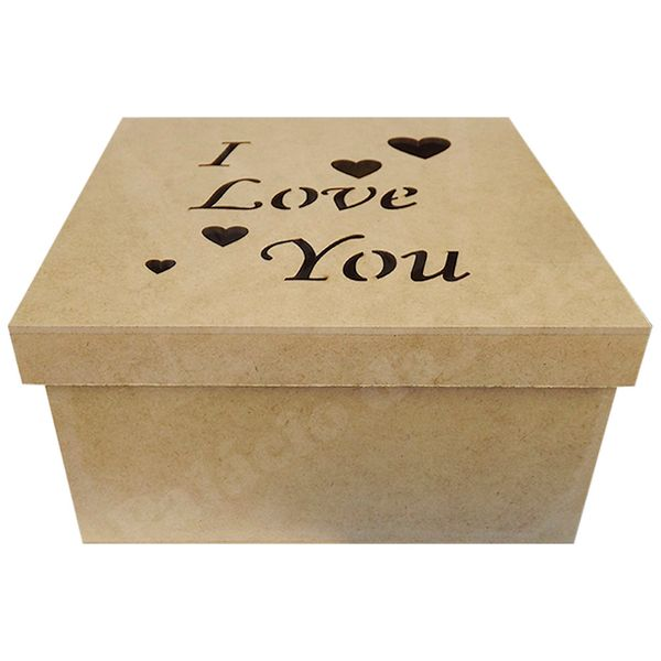 Caixa-Tampa-de-Sapato-em-MDF-Quadrada-20x20x10cm-I-Love-You---Palacio-da-Arte